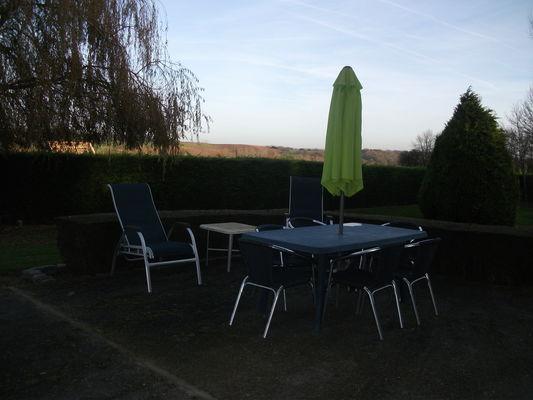 Quiberville - Gîtes Basse Saâne - Village - terrasse automne