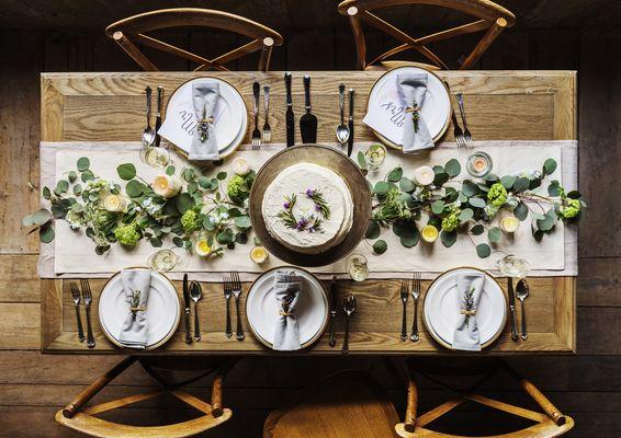 Repas_table_champêtre