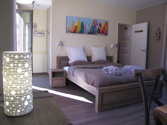 Ouville - Villa Argonne gîte LE TREPORT chambre
