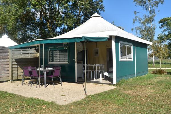 Camping au Bord du Loir - Le Lude - Bungalow Edena (67)