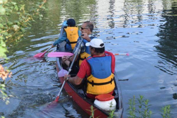 Camping au Bord du Loir - Le Lude - Juillet 2016 sortie canoé et vélo (35) (Copier)