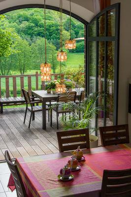 Espace petits déjeuners Chambres d'hôtes La Haute Forge II