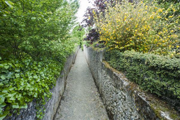 Les ruelles du Parcours Patrimoine de Neuvy-le-Roi