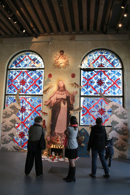 Vierge monumentale par Julien Jaffré