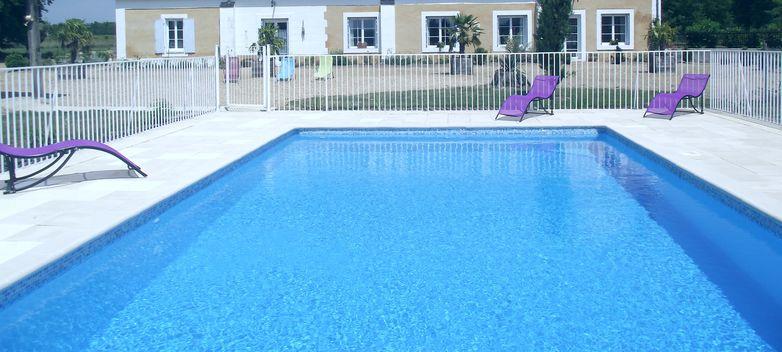 manoir piscine