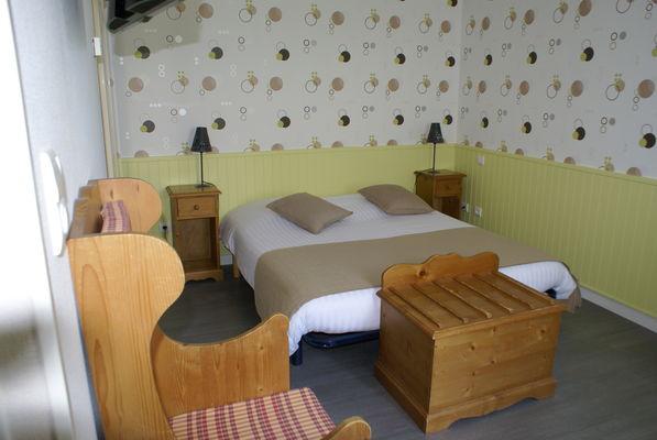 chambre double climatisée