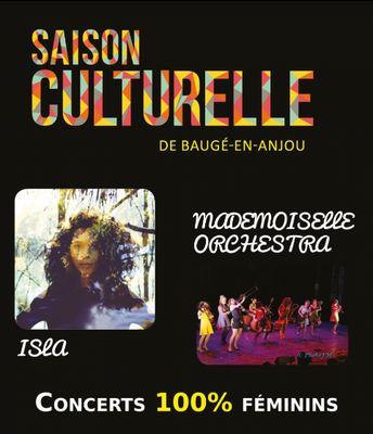 concert-100%-féminin-Isla-Mademoiselle-orchestra-baugé