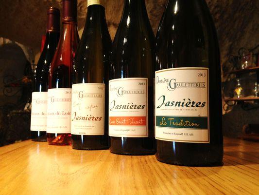 degustation commentée de la gamme des Jasnières et Coteaux du Loir
