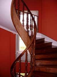 escalier chateau