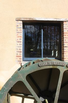 roue moulin hilleraie