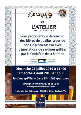Atelier de la Sardine - Brasseurs de la Vie