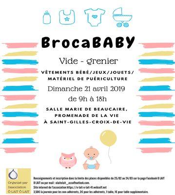 Brocababy St Gilles 21-04-19