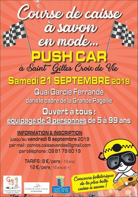 Course de caisses en mode push car 21-09-19