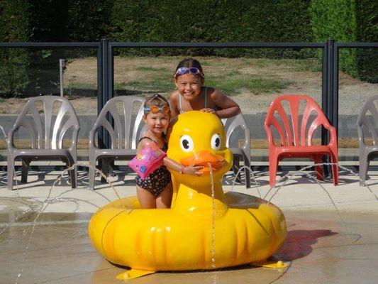 jardin d'eau pour enfants