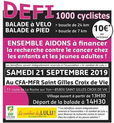Défi 1000 cyclistes