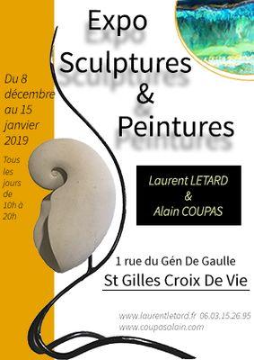 Exposition Laurent Letard - Alain Coupas