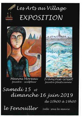 Exposition Manou Moreau et Françoise Gosset