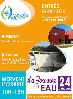 Journée de l'Eau 2019 - Mervent - La Balingue - Vendee