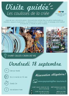 LES COULISSES DE LA CRIEE 18-09-2020