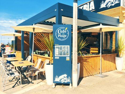 Restaurant caf de la plage pizzeria bretignolles sur mer office de tourisme du pays de - Office du tourisme bretignolles sur mer ...