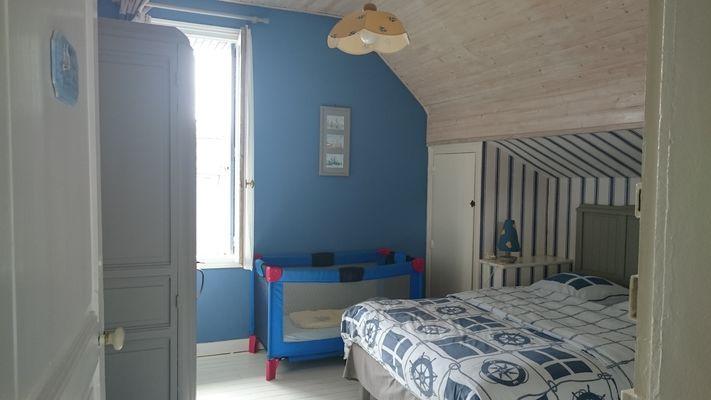 Le Saphir chambre 1er étage  lit double-2