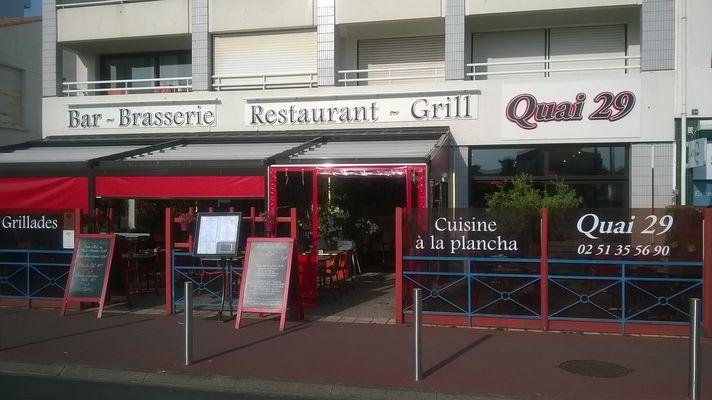 Restaurant le Quai 29 Saint Gilles Croix de Vie (1)