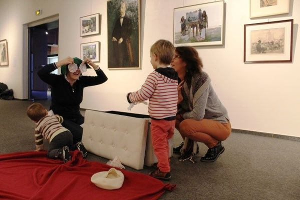 Visites ateliers en famille au Musée