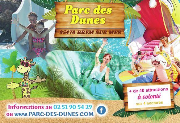 Visuel Parc des Dunes GT et Guide des Animations été 2019