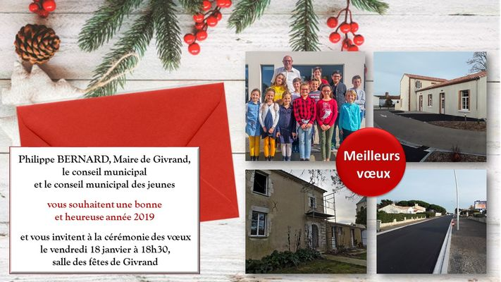 Voeux Givrand 2019