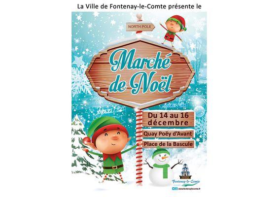 marché de noël 2018 - Fontenay-le-Comte - Vendée