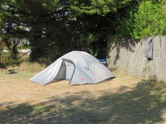 accueil itinérant à vélo au camping La Padrelle