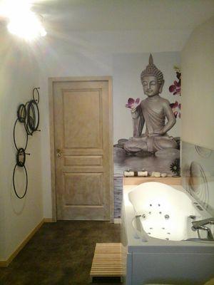 balnéo chambre la porte aux moines
