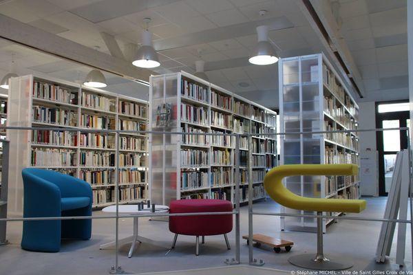 bibliothèque de st gilles croix de vie 2019