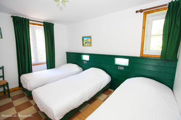 chambre-verte-gite-boulangerie-Domaine de Bacqueville -IMG_8067