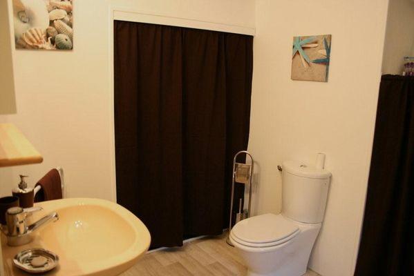 la salle de bain le rétro