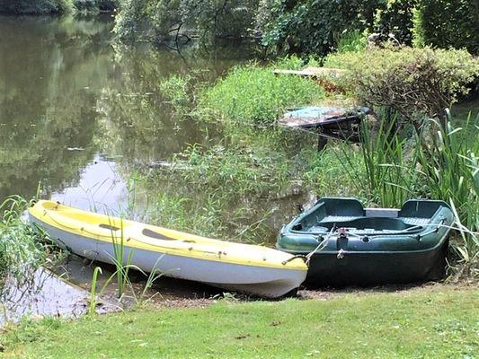 les-barque-et-canoe