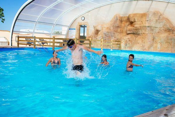piscine couverte chauffée