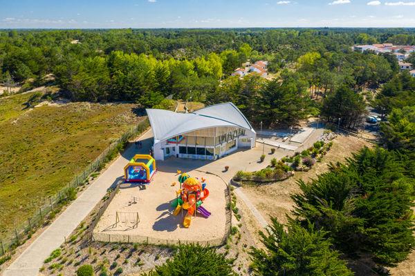 Village vacances Le Petit Bec accès direct plage