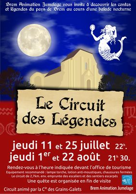 Le circuit des Légendes, balade nocturne