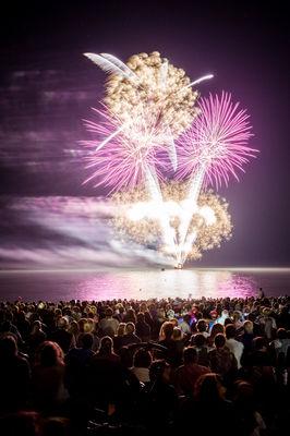 25.08.2017 spectacle pyromusical SAINT HILAIRE DE RIEZ1 ©Simon BOURCIER