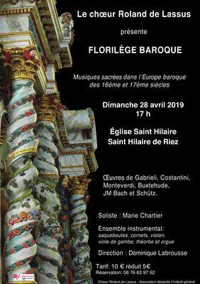 28.04.2019 concert St Hiaire de riez