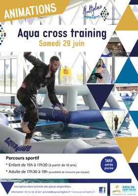 2019 05 20 affiche A3 aqua cross training