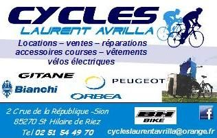 CYCLES LAURENT AVRILLA_Saint Hilaire de Riez