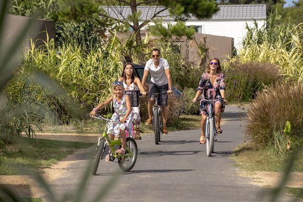 location de vélo - camping l'océan
