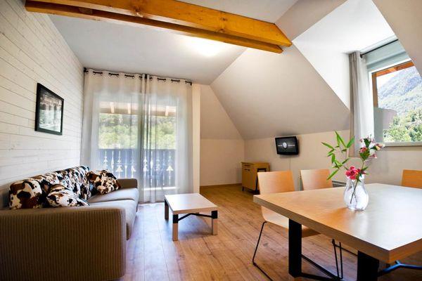 résidence lagrange confort + les chalets d'ax à ax les thermes Séjour