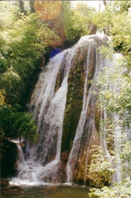 La cascade pétrifiante de St Pierre Livron