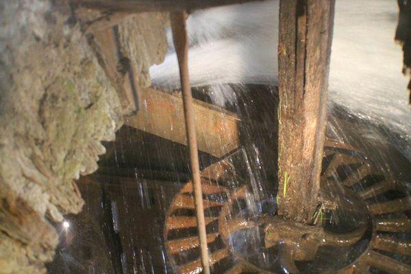 le rouet du moulin de sinsat