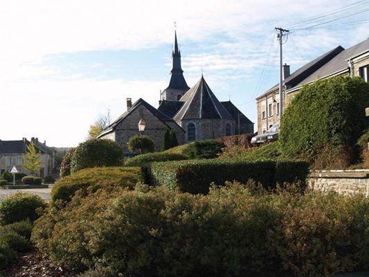 L'église d'Hargnies