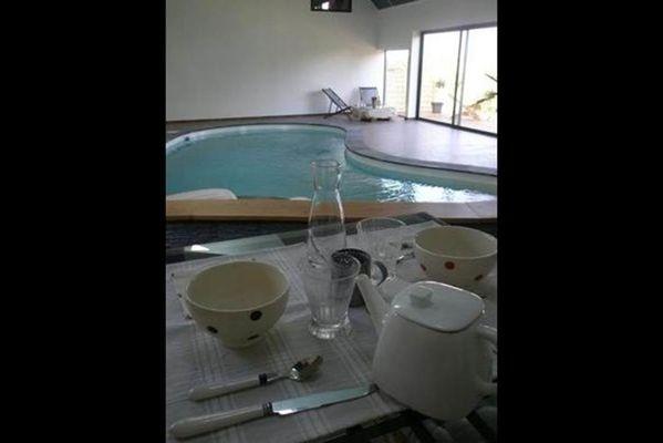 Le clos de la forge, appartement, piscine et jacuzzi à moins d'1h de Charleville-Mézières et Reims - Banogne-Recouvrance - Ardennes