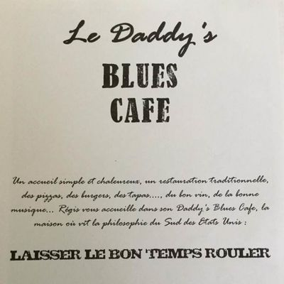 Le Daddy's Blues Café logo